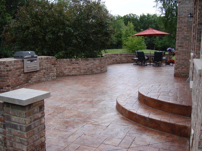 béton pour terrasse extérieure