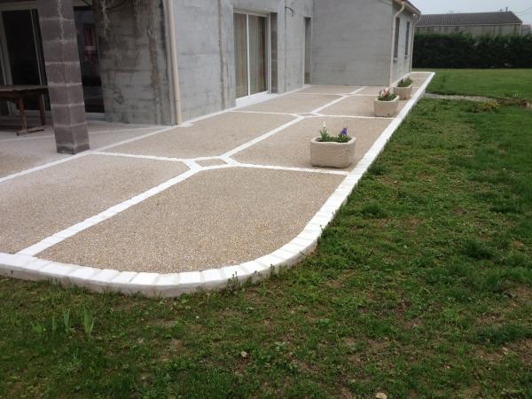 Comment calculer le prix d'une terrasse en béton de 50 m2?
