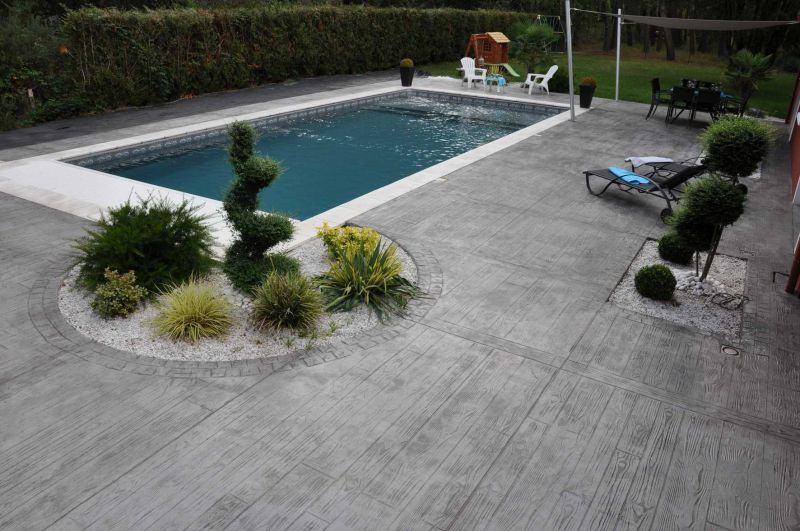 rix d'une terrasse en béton