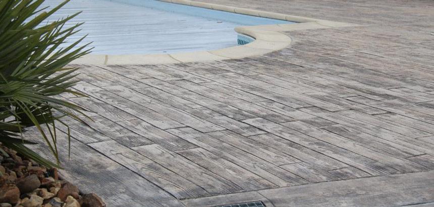 béton texturé
