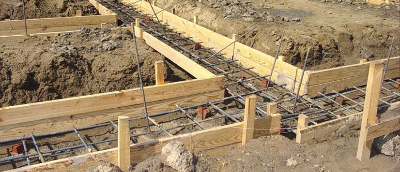 fondation beton pour maison