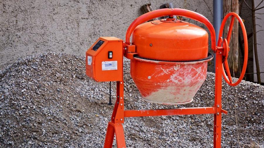 Comment faire le mélange au betonniere?