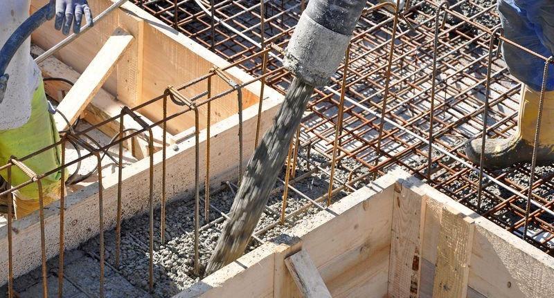 béton de fondation