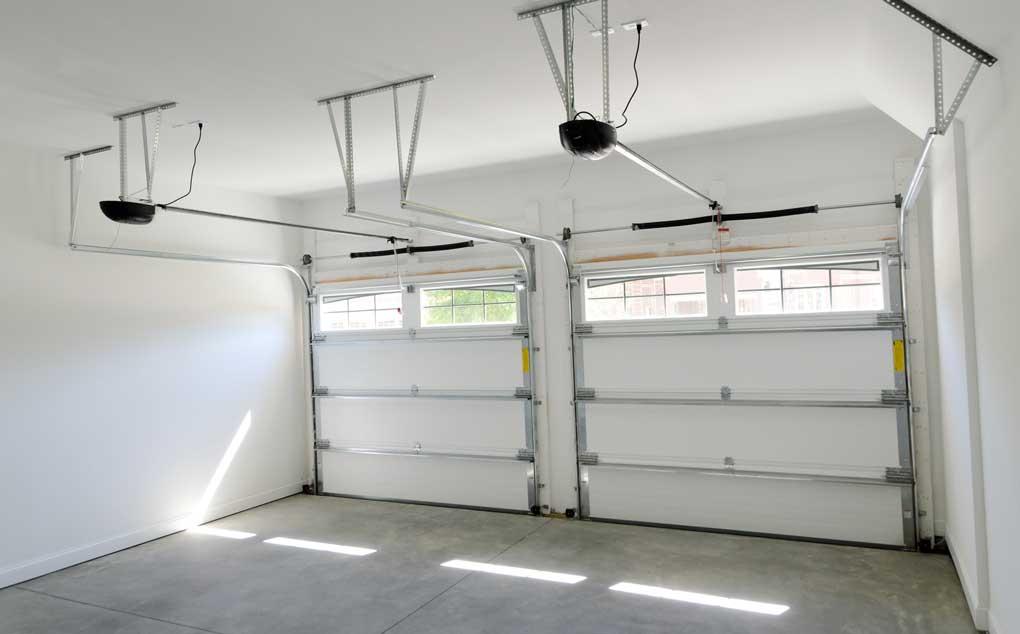 chape pour garage