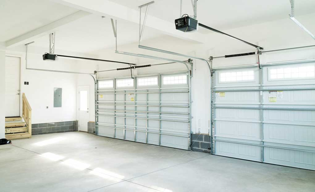 prix chape garage