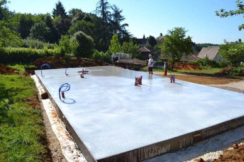 protejer beton frais