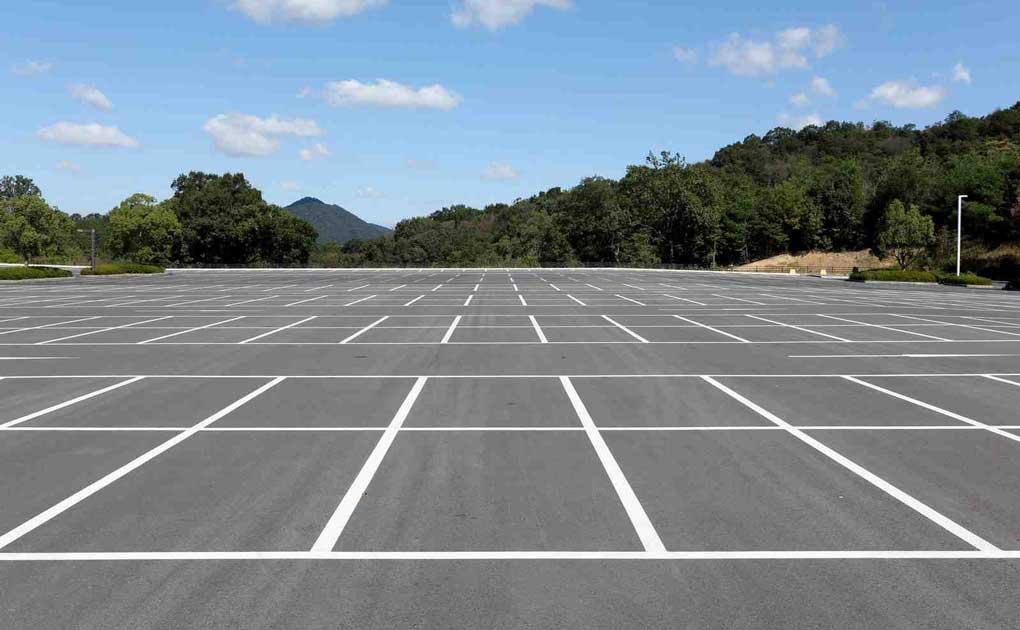 revêtement de sol pour un parking exterieur