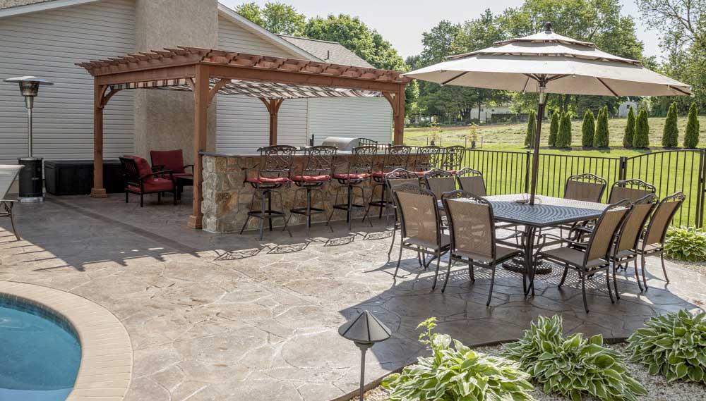 revêtement de sol pour terrasse d'extérieur